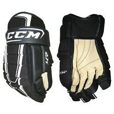 "New CCM HG4R ice hockey gloves glove 4-roll four roll senior sr size 13"" black"
