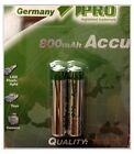 14x AAA MICRO NI-MH AKKU 1,2V 800 mAh Batterien Accu aufladbar Wiederaufladbar