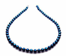 $3,599 Pacific Pearls® AAA 7-7.5mm Japanese Akoya Saltwater Black Pearl Necklace