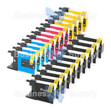 22 PACK LC71 LC75 NON-OEM Ink for BROTHER MFC-J430W LC-71 LC-75 LC71 LC75 LC79