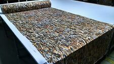 """CAMO FLOODED TIMBER TRUE TIMBER MOISTURE WICKING FABRIC 57""""W PERFORMANCE KNIT"""