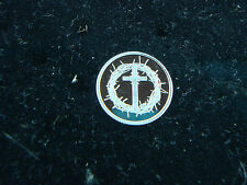 Cross with Crown of Thorns 1 Gram .999 Pure Silver Round Coin Religious Gift