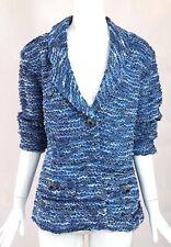 St. John Blue Ribbon Tweedy Jacket / St. John / Size XL / Tweedy Jacket / XL