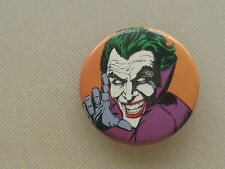 Pinback Button JOKER Batman - 1 1/2""