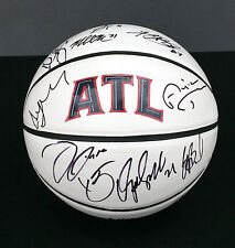 2015 ATLANTA HAWKS Team Signed Autographed Logo Basketball COA! NBA CHAMPS?!?!?