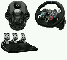 NEW Logitech G29 Driving Force Racing Wheel & Pedals/Gearshift PS4 PS3 PC BUNDLE