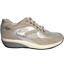 scarpe da donna nero giardini P207051D-702 SNEAKER CAMOSCIO  TELA