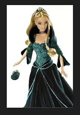 NIB Special 2004 Edition Holiday Barbie Green Dress Barbie Collector Doll Mattel