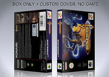 CASTLEVANIA. PAL VERSION. Box/Case. Nintendo 64. BOX + COVER. (NO GAME).