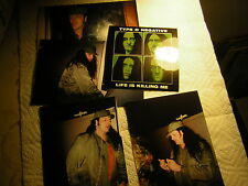 TYPE O NEGATIVE PROMO STICKER 2003 LIFE IS KILLING ME W/UNPUB PHOTO PETE STEELE