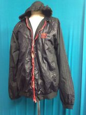 Mens Adidas Black & Red Jacket With Trainer On The Back VGC UK Size L
