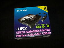 TASCAM iUR2 USB Recording Audio with MIDI Interface for Mac and Windows PC