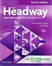 NEW HEADWAY Upper-Intermediate 4TH ED Workbook without KEY with iChecker CD @New