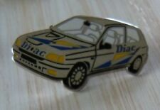 PIN'S RALLYE TEAM DIAC RENAULT CLIO WILLIAMS ARTHUS BERTRAND ARGENT