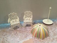 MY LITTLE PONY VINTAGE G-1 PARADISE ESTATE MANSION REPLACEMENT PIECES CHAIRS ++