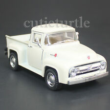 Kinsmart 1956 Ford F-100 PickUp Truck 1:38 Diecast Toy Car White