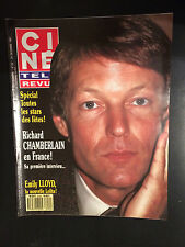 CINE REVUE 1987 N°52 richard chamberlain nancy grahn don johnson emily LLOYD