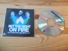 CD Pop Body Bangers - Set The Night On Fire (7 Song) Promo MINISTRY OF SOUND