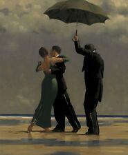 JACK Vettriano-Dancer in Emerald 40x50 cm Art Print