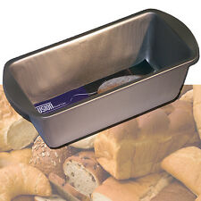 NON STICK BREAD PAN LOAF HEAVYWEIGHT STEEL BAKING CAKE TRAY TIN BAKEWARE MEAT