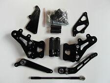 Suzuki GSX R 600 750 K6 K7 K8 K9 L0 2006 2007 2008 2009 Rearset black