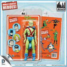 "Official DC Comics Martian Manhunter 8 "" Action Figure on Mego-Like Retro Card"