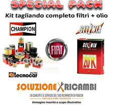 KIT TAGLIANDO FILTRI + OLIO FIAT Punto 1.2 16V 80 59KW 80CV 09/99-