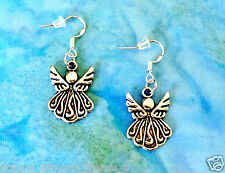 BUY 3 GET 1 FREE~CUTE SILVER ANGEL EARRINGS~MOTHERS DAY GIFT FOR MOM HER FRIEND