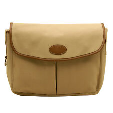 Home Works - Cream Canvas Fishing Style Messenger Bag