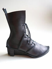 TRIPPEN Germany - Women's Leather X+OS Boots SKULPTUR f brown EU38 US6.5-7 UK4.5
