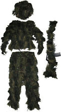Sniper Hunting Camouflage Camo Ghillie Suit Rifle Cover Hood Jacket Pant