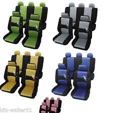 Für HONDA CR-V Sitzbezüge / Schonbezüge Gecko blau grün gelb pink grau