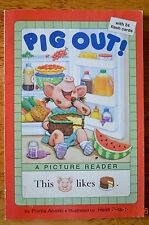 Pig Out  Book A Picture Reader W/ 24 Flash Cards Book Level Reader Teacher