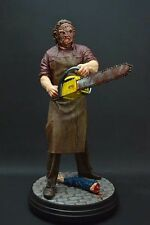 Hollywood Collectibles Group Texas Chainsaw Massacre Leatherface 20 Inch Statue