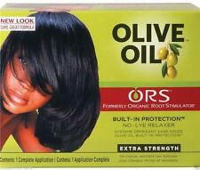 Organic Roots Olive Oil Hair Relaxer Non Lye - EXTRA STRENGTH / ALL IN ONE