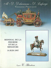 Catalogue 1997 enchères miniature figurine petit soldat Mignot Heinrichsen etc