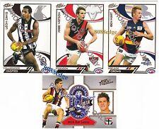 2006 SELECT AFL SUPREME 4 CARDS PROMO SET: WATSON/DAL SANTO/BEN HART/LEON DAVIS