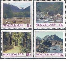 New Zealand 1975 FOREST PARK SCENES (4) Unhinged Mint SG 1075-8