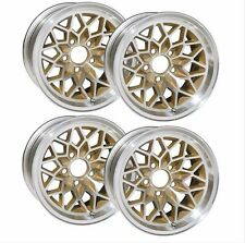 "YEARONE Gold ""Snowflake"" Wheels 15"" X 8"" Cast Aluminum  set of 4"