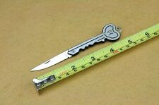 Creative Key Shaped Small Pocket Knife Blade with Key-chain Ring Gift Knife New