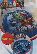 MARVEL THE AVENGERS ASSEMBLED FULL COMFORTER SHEETS 5PC BEDDING SET NEW