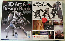 3D ART & DESIGN Book 194 Pages + 2 GB of Free Resources ULTIMATE GUIDE Projects