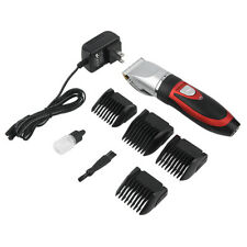 Professional Pet Dog Hair Grooming Cordless Electric Quiet Trimmer Clippers+Oil