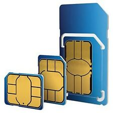 O2 nano micro standard sim carte. 02 £ 25 big bundle p. a, y, g pour iphone, samsung