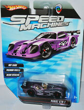 Speed Machines - PANOZ GTR-1  purple / graphics - 1:64 Hot Wheels