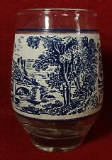 WEDGWOOD china COUNTRYSIDE BLUE pattern 6-oz Juice Tumbler or Glass - 3-5/8""