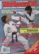 3/87 TAE KWON DO TIMES CHUL KOO YOON BLACK BELT KARATE KUNG FU MARTIAL ARTS