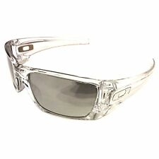 NEW Oakley Fuel Cell Sunglasses – Polished Clear – Chrome Iridium – OO9096-39