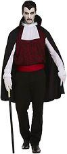 Drácula Gótico Vampiro-Para Hombre Adulto Sofisticado Vestido Fiesta Disfraz (Medio) V00 224