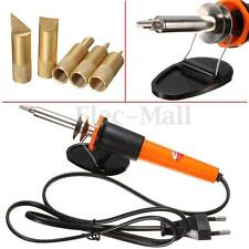 220V 30W Carving Pyrography Electric Soldering Iron Wood Burning Pen + 5 Points